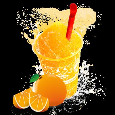 Sneky-becher-orange